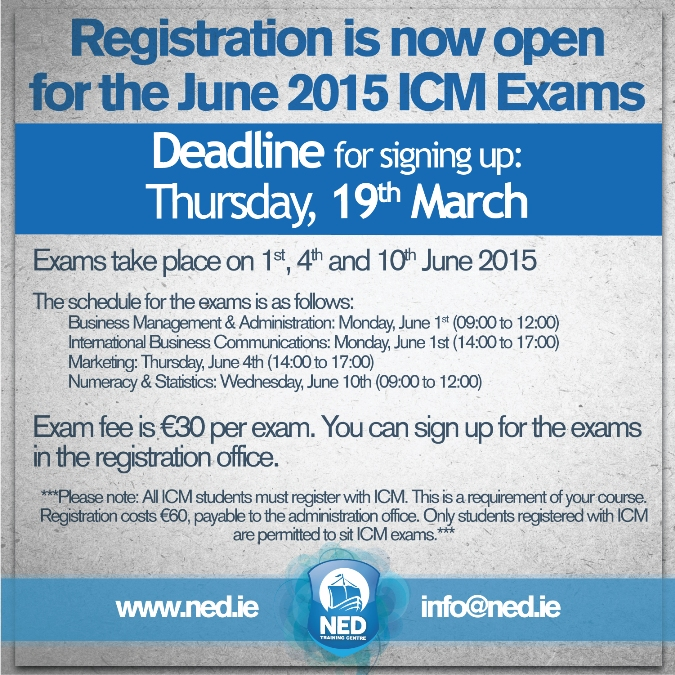 icm-exams-next-june